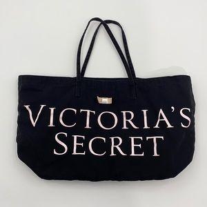 Victoria's Secret Tote Bag Black/Pink